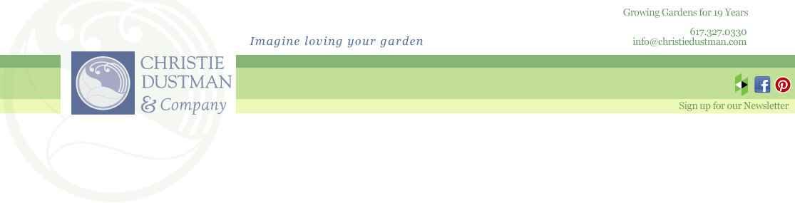 Christie Dustman Garden Design Logo